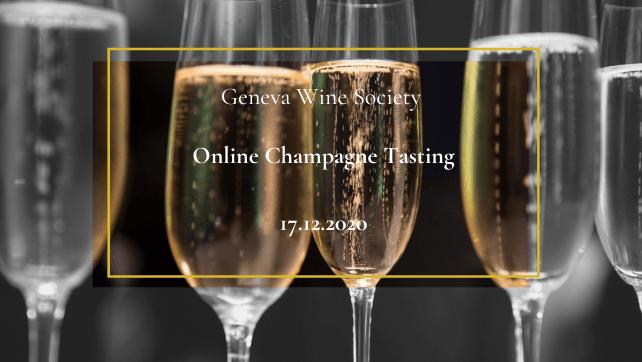 Online Champagne Tasting