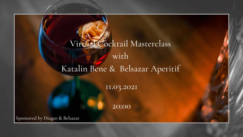 Virtual Cocktail Masteclass